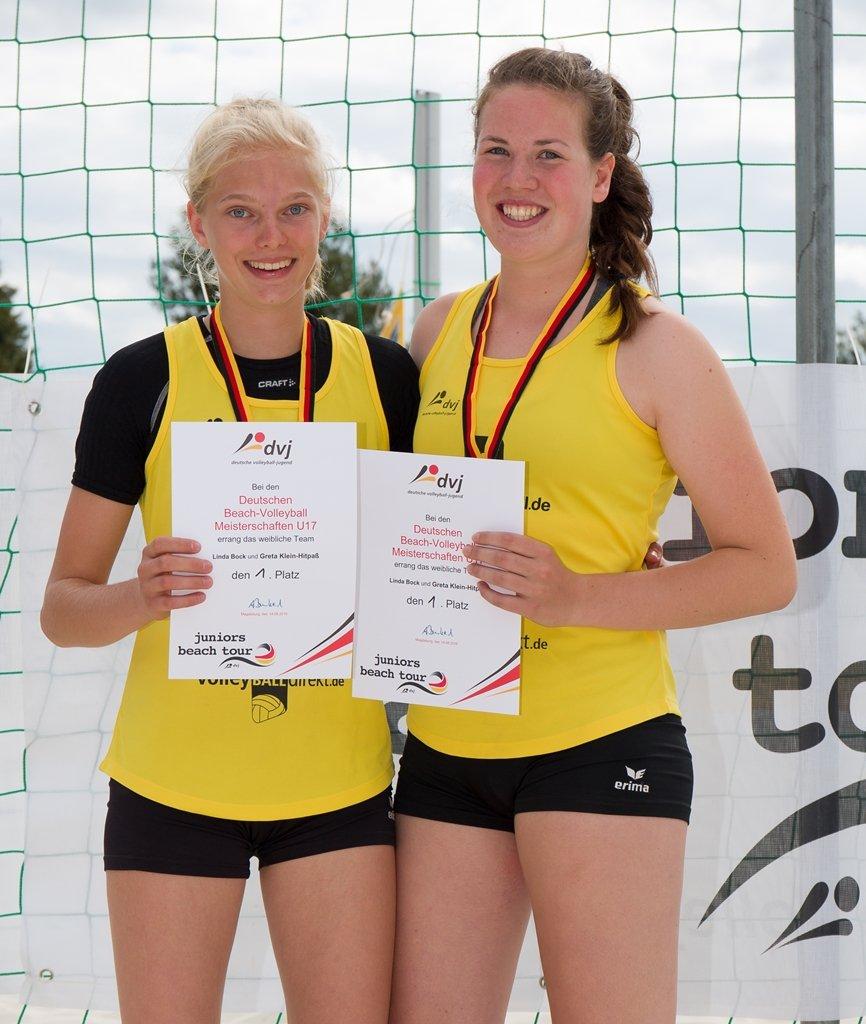 Deutsche Meisterschaften Beachvolleyball U17, Magdeburg, Foto: Mario Tomiak (2016)