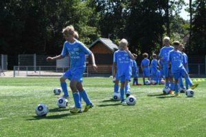 Fußballcamp Szenenbild